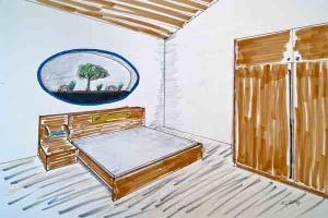 Entwurf Schlafzimmer