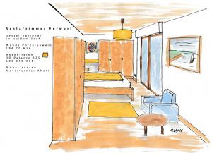 Schlafzimmer Entwurf 2016
